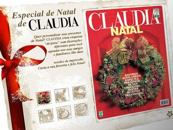 Especial de Natal Claudia