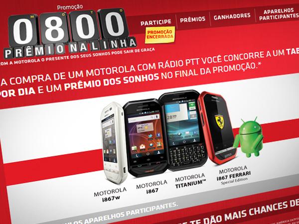 Prêmio na Linha Motorola