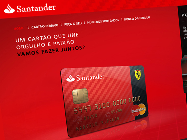Santander Cartão Ferrari